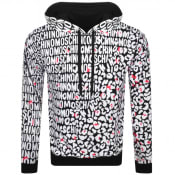 Product Image for Moschino Leopard Print Hoodie Black