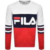 Product Image for Fila Vintage Freddo Colour Block Sweatshirt White