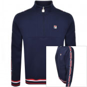 Product Image for Fila Vintage Murray Taped Half Zip Track Top Navy