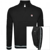 Product Image for Fila Vintage Murray Taped Half Zip Track Top Black