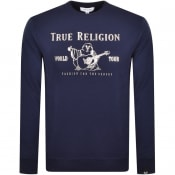 Product Image for True Religion Chad Core Sweatshirt Navy