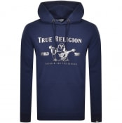 Product Image for True Religion Chad Core Pullover Hoodie Navy