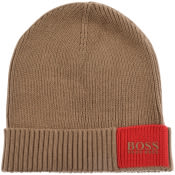Product Image for BOSS Arebo Beanie Hat Beige
