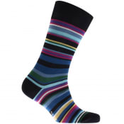 Product Image for Paul Smith Striped Socks Navy