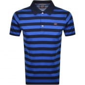 Product Image for Paul And Shark Striped Polo T Shirt Navy