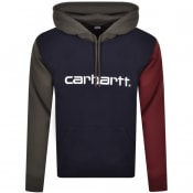 Product Image for Carhartt Tricol Hoodie Navy