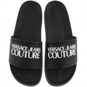 Product Image for Versace Jeans Couture Logo Sliders Black