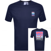 Product Image for adidas Originals Adiplore GFX T Shirt Navy