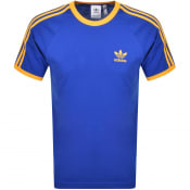 Product Image for adidas Originals 3 Stripe T Shirt Blue