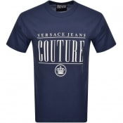 Product Image for Versace Jeans Couture Logo T Shirt Blue