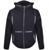 Product Image for Emporio Armani Logo Full Zip Jacket Navy