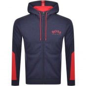 Product Image for BOSS Saggy Full Zip Hoodie Navy