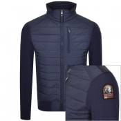 Product Image for Parajumpers Elliot Full Zip Sweatshirt Navy