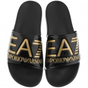 Product Image for EA7 Emporio Armani Sea World Sliders Black