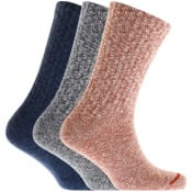 Product Image for Red Wing Ragg Three Pack Socks Blue