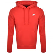 Product Image for Nike Club Hoodie Red