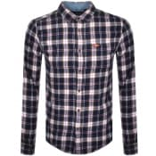 Product Image for Superdry Lumberjack Long Sleeved Shirt Navy