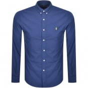Product Image for Ralph Lauren Oxford Long Sleeved Shirt Blue