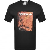 Product Image for adidas Originals Adventure Logo T Shirt Black