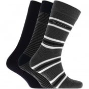 Product Image for Gant Three Pack Mixed Socks Grey