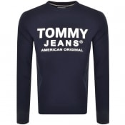 Product Image for Tommy Jeans Essential Sweatshirt Navy