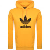 Product Image for adidas Originals Logo Hoodie Yellow