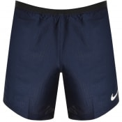Product Image for Nike Pro Dri Fit Logo Shorts Navy