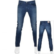 Product Image for BOSS Delaware Slim Fit Jeans Navy