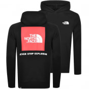 Product Image for The North Face Raglan Red Box Hoodie Black