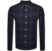 Product Image for Farah Vintage Brewer Tartan Shirt Green
