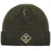 Product Image for Barbour Two Toned Beanie Hat Green