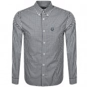 Product Image for Fred Perry Gingham Check Shirt Blue