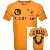 Product Image for True Religion Buddha Logo T Shirt Orange