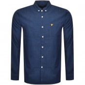 Product Image for Lyle And Scott Long Sleeved Denim Shirt Blue