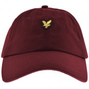 Product Image for Lyle And Scott Baseball Cap Burgundy