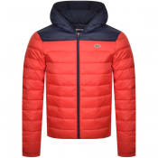 Product Image for Lacoste Sport Full Zip Hooded Jacket Red