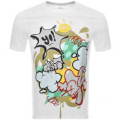 Product Image for Armani Exchange Street Art T Shirt White