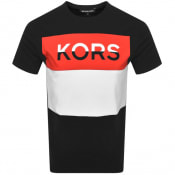 Product Image for Michael Kors Blocked Logo T Shirt Black
