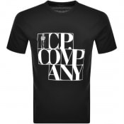 Product Image for CP Company Logo T Shirt Black