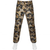 Product Image for Versace Jeans Couture Baroque Trousers Black