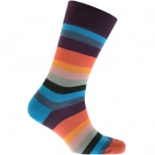 Product Image for Paul Smith Striped Socks Blue