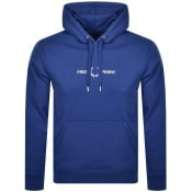 Product Image for Fred Perry Logo Hoodie Blue