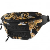 Product Image for Versace Jeans Couture Logo Waist Bag Black