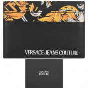 Product Image for Versace Jeans Couture Logo Card Holder Black