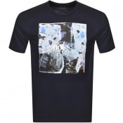 Product Image for BOSS Tomio 5 T Shirt Navy