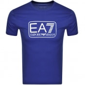 Product Image for EA7 Emporio Armani T Shirt Blue