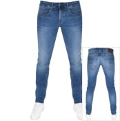 Product Image for G Star Raw Revend Skinny Jeans Blue