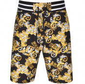 Product Image for Versace Jeans Couture Print Shorts Black