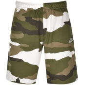 Product Image for Nike Standard Camouflage Logo Shorts Green