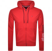 Product Image for Tommy Hilfiger Full Zip Hoodie Red
